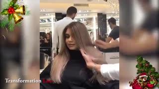 آموزش تکنیک رنگ کردن مو