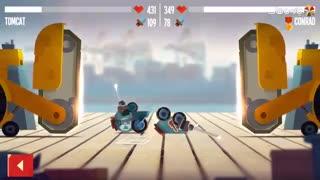 بازی هیجان انگیز C.A.T.S.: Crash Arena Turbo Stars