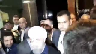 بازدید روحانی از ستاد انتخابات