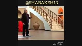 کلیپ طنز مهران مدیری - چقدر گشاد بوده بعد تنگ شده