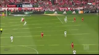 خلاصه بازی  : بایرن مونیخ   4  -  1   فرایبورگ   ( قهرمانی بایرن مونیخ )