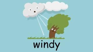 آموزش تصویری لغات انگلیسی آب و هوا