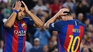 خلاصه بازی  : بارسلونا  4  -  2   ایبار  ( درخشش مسی )