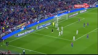 خلاصه بازی بارسلونا 4-2 ایبار