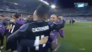 قهرمانی رئال مادرید در لالیگا اسپانیا 2017
