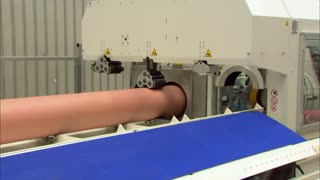 Complete production line for PVC