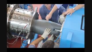 PVC PIPES EXTRUSION LINE