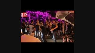 جشن و پایکوبی مردم در خیابانها بعداز پیروزی روحانی