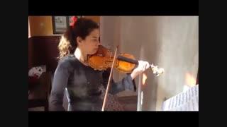 زنی که ساز ویولنش را پرینت سه بعدی کرد!