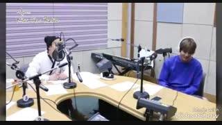 برنامه رادیویی امروز کیو با هونگ کی و جی بین بیکاز رو میخونن