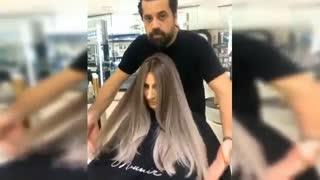 آموزش تکنیک های رنگ مو