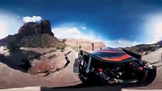 ویدیوی 360 درجه از مسابقات رالی