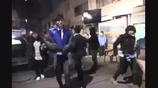 پشت صحنه موزیک ویدئو extreme از لی مین هو