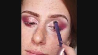 روشی شگفت انگیز برای پوشاندن لک و جوش صورت در آرایش