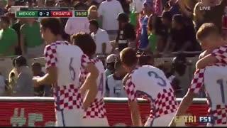 خلاصه بازی کرواسی 2-1 مکزیک