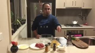 آموزش سنتی ترین کتلت ایرانی - جواد جوادی