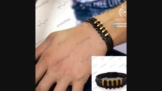دستبند چرم اسپرت پسرانه مارک PATEKPHILIPPE
