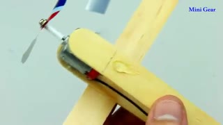 آموزش ساخت هواپیما کنترلی با چوب
