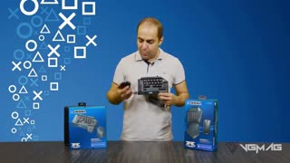 آنباکسینگ HORI TAC Mouse and Keyboard - وی جی مگ