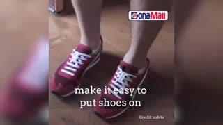 دیگر بند کفش هایتان را نبندید !