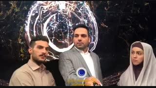 ویدئو سلفى احسان علیخانى  با نسترن و محمد بعد از پایان قسمت چهارم