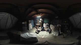 ویدیوی 360 درجه ترسناک پارانورمال