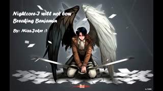 Nightcore||I will not bow (( ساخت خودم - تقدیمی ))