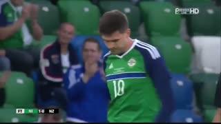 خلاصه بازی ایرلند شمالی 1-0 نیوزیلند