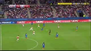 خلاصه بازی فرانسه 5-0 پاراگوئه