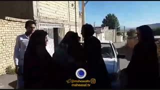 بازگشت خواهران منصوریان   به خانه مادرىشان در سمیرم