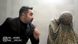 مبین..تفاوت فیلمای ایرانیه قدیمی و الان ...پشت صحنشم ویدیوی قبلی..به جای فاز دپ یکم بخندین باو