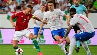خلاصه بازی مجارستان 0-3 روسیه