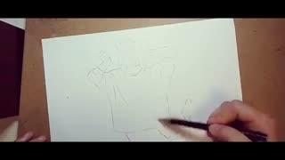 How to draw Yuri plisetsky 2