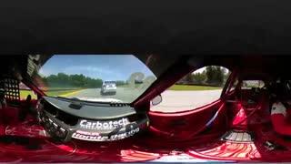 مسابقه اتومبیل رانی - 360 درجه