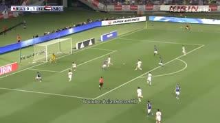 خلاصه بازی ژاپن 1-1 سوریه