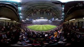 فینال لیگ قهرمانان اروپا از دید دوربین 360 درجه