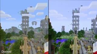 آنالیز گرافیک و فریم ریت بازی Minecraft - Switch vs PS4