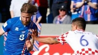 خلاصه بازی ایسلند 1-0 کرواسی
