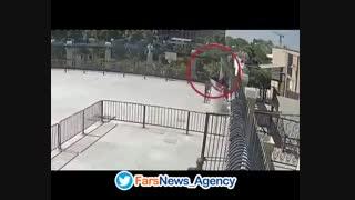 اولین فیلم واضح از لحظه ورود تروریستها به مجلس