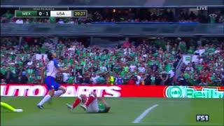 خلاصه بازی مکزیک 1-1 امریکا
