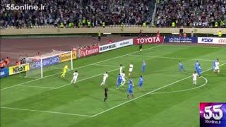صعود ایران به جام جهانی 2018 با این 2 گل بدون صدای گزارشگر