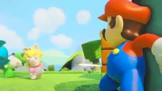 E3 2017: تریلر رونمایی بازی Mario + Rabbids Kingdom Battle