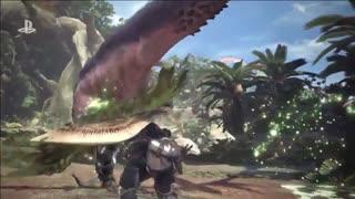تریلر بازی Monster Hunter World در E3 2017 - زومجی
