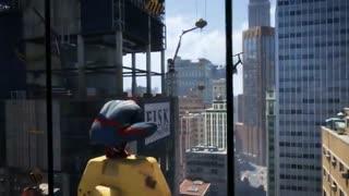 تریلر گیم پلی بازی Spiderman در E3 2017 - زومجی