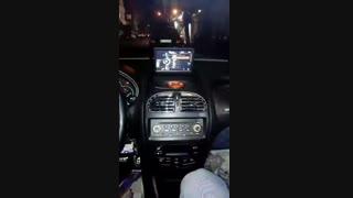 نصب دی وی دی فابریک برای پژو 206