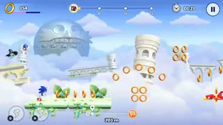 ویدئو گیمپلی Sonic Runners Adventure - زومجی