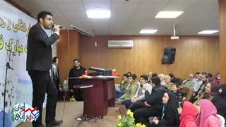 تقلیدصدای گزارشگر فوتبال عربی (سامان طهرانی)