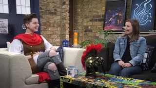 Rebecca Benson Talks The Eaters of Light - The Aftershow - Doctor Who: The Fan Show