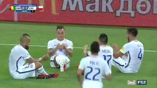 خلاصه بازی کامرون 0-2 شیلی