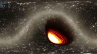 ورود به سیاه چاله فضایی (360)